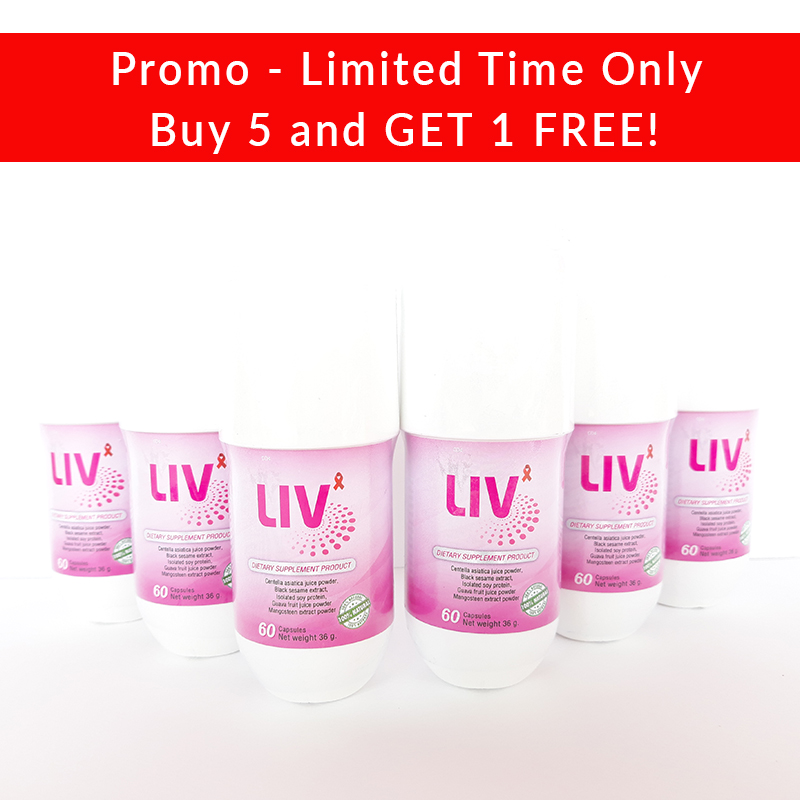 LIV Capsules Promo - Increase your CD4 Count