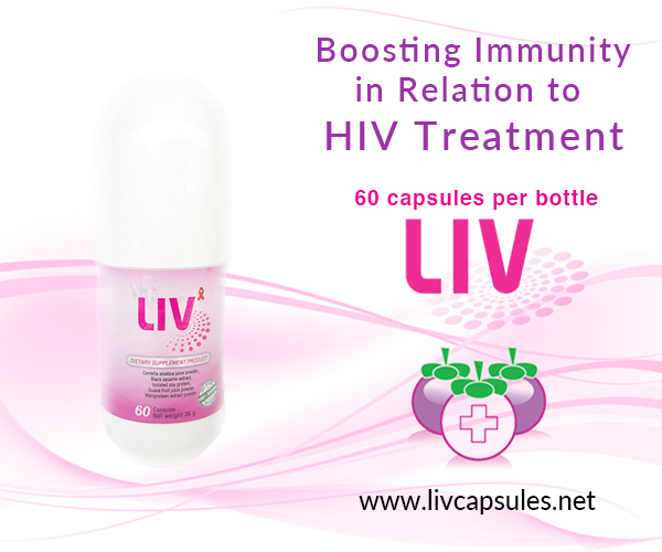 Increase your CD4 count with LIV Capsules